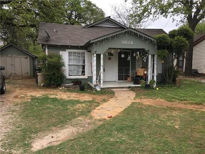 Single Family Home For Sale: 3012 Chippewa Trail