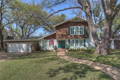 Fort Worth Single Family Home Active Kick Out: 6236 Locke Avenue