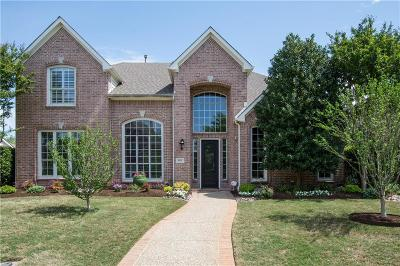 Coppell Single Family Home Active Option Contract: 477 Copperstone Trail