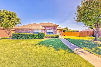 Frisco Single Family Home Active Contingent: 12105 Peachtree Lane