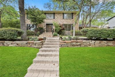 Single Family Home For Sale: 9515 Crestedge Drive