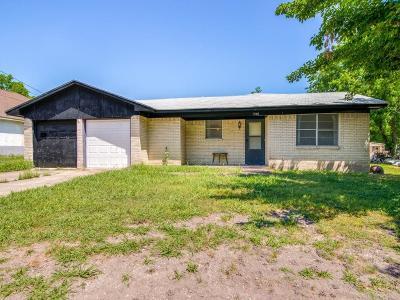 Van Alstyne Single Family Home Active Option Contract: 1240 E Jefferson Street