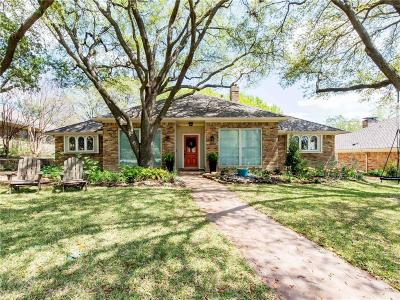 Dallas Single Family Home For Sale: 7510 Hundley Boulevard