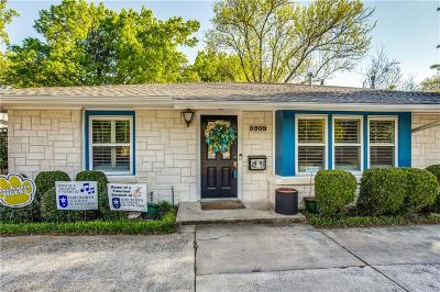 Fort Worth Single Family Home For Sale: 3909 Claridge Court