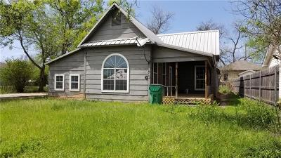 Stephenville Single Family Home Active Option Contract: 821 W Green Street