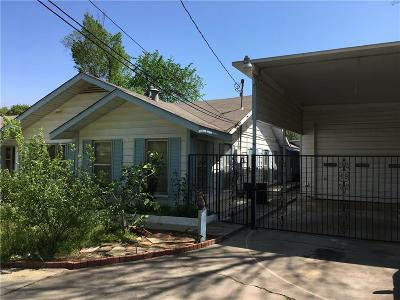 Fort Worth Single Family Home For Sale: 1809 Carl Street