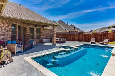 McKinney Single Family Home Active Option Contract: 7917 Weatherford Trace