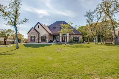 Aubrey Single Family Home For Sale: 6701 Blackjack Oaks Road