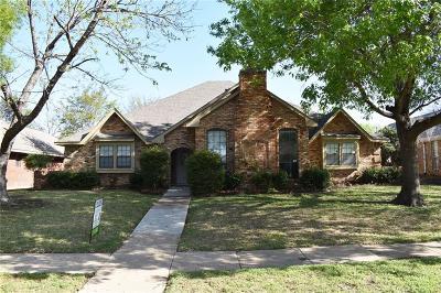 Carrollton Single Family Home For Sale: 2527 Belmeade Drive