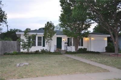 Brownwood Single Family Home Active Option Contract: 2403 Belmeade Avenue