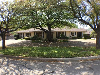 Fort Worth Single Family Home Active Option Contract: 3812 Candlelite Court