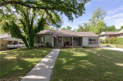Fort Worth Single Family Home For Sale: 6463 Garland Avenue