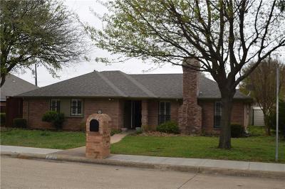 Prosper Single Family Home Active Option Contract: 1504 Ridgewood Drive