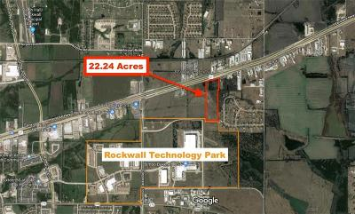Rockwall County Commercial Lots & Land For Sale: E I30