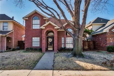 Coppell Single Family Home Active Option Contract: 129 Summer Place Drive
