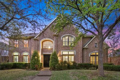 Plano Single Family Home Active Option Contract: 4645 Old Pond Drive