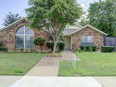 Carrollton Single Family Home Active Option Contract: 1612 Crooked Creek Drive