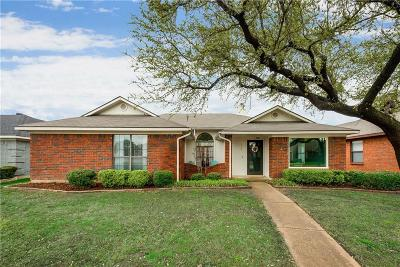 Coppell Single Family Home Active Contingent: 346 Parkwood Lane