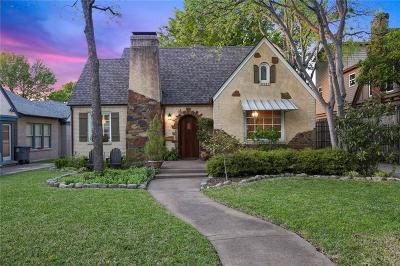 Single Family Home For Sale: 5411 Monticello Avenue