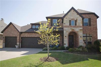 Frisco Single Family Home Active Contingent: 8605 Ledge Drive