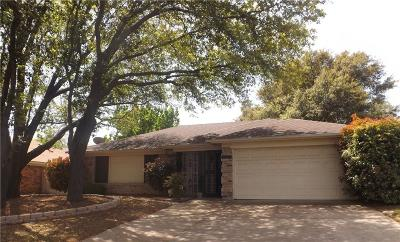 Burleson Single Family Home Active Contingent: 737 Parkview Drive