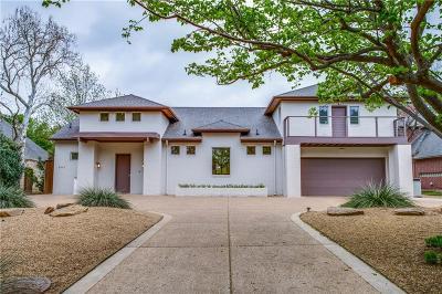 Dallas TX Single Family Home Active Option Contract: $1,000,000