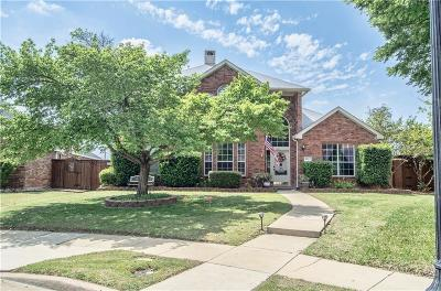 Frisco Single Family Home Active Option Contract: 3721 Strattford Drive