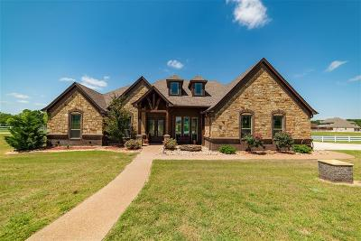 Weatherford Single Family Home For Sale: 131 Pack Saddle Trail