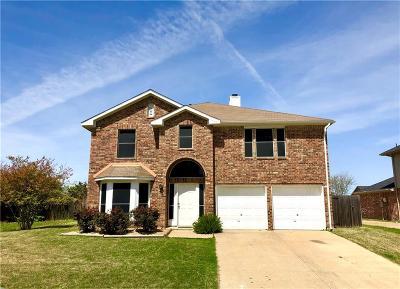 Rowlett Single Family Home For Sale: 7209 Gillon Drive