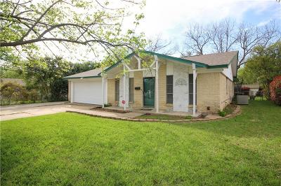 Burleson Single Family Home Active Option Contract: 213 Amy Street