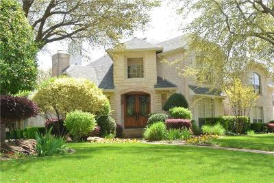 Southlake Single Family Home Active Option Contract: 801 Shorecrest Drive