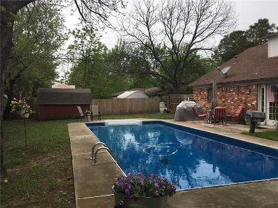 Hurst Single Family Home For Sale: 857 Woodcrest Drive