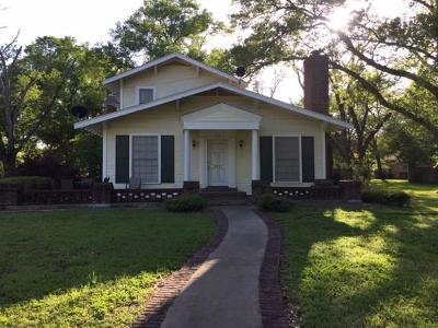 Groesbeck, Kosse Single Family Home For Sale: 512 E Walker Street