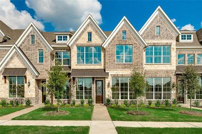 Mckinney Townhouse For Sale: 4925 McKinney Hollow Drive