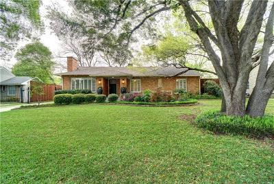 Single Family Home For Sale: 6243 Del Norte Lane
