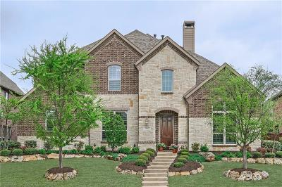Allen Single Family Home Active Option Contract: 860 Bear Crossing