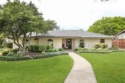 Richardson Single Family Home Active Option Contract: 2501 Grandview Drive