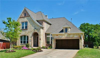 Coppell Single Family Home For Sale: 160 Amberwood Drive