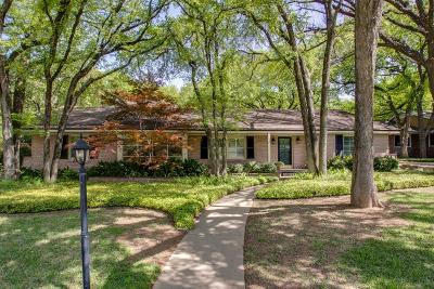 Fort Worth Single Family Home For Sale: 3709 Fox Hollow Street