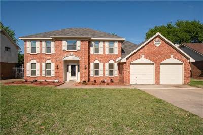 Grapevine Single Family Home Active Option Contract: 4146 Heartstone Drive