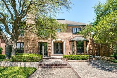 Dallas TX Single Family Home For Sale: $1,365,000