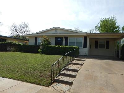 Hurst Single Family Home Active Option Contract: 628 Bluebonnet Drive