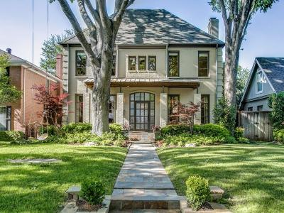 Highland Park Single Family Home Active Option Contract: 3616 Potomac Avenue