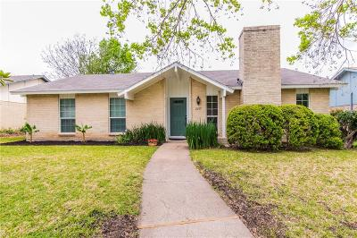 Plano Single Family Home Active Contingent: 2217 Briarwood Drive