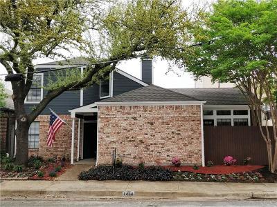 Dallas Single Family Home Active Contingent: 1414 Villars Street