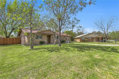 Coppell Single Family Home Active Option Contract: 805 Bullock Street