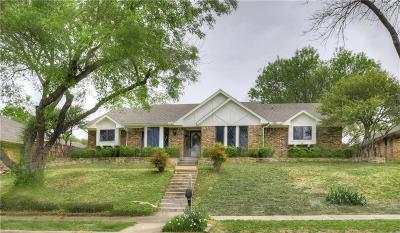 Garland Single Family Home Active Option Contract: 2814 Club Meadow Drive