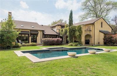 Dallas County Single Family Home For Sale: 6637 Northaven