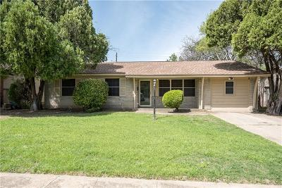 Dallas Single Family Home Active Option Contract: 7665 Woodshire Drive