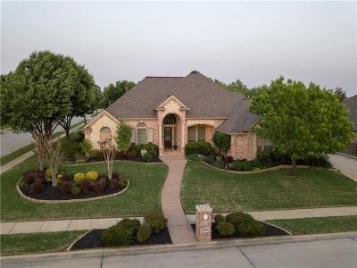 North Richland Hills Single Family Home Active Option Contract: 8216 Thornbush Drive